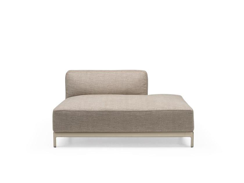 Modulares Sofa aus Stoff ALUZEN SOFT ANGULAR - P45 by Alias