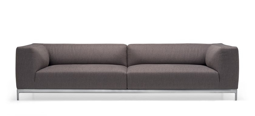3 seater fabric sofa ALUZEN SOFT SOFA - P33 by Alias