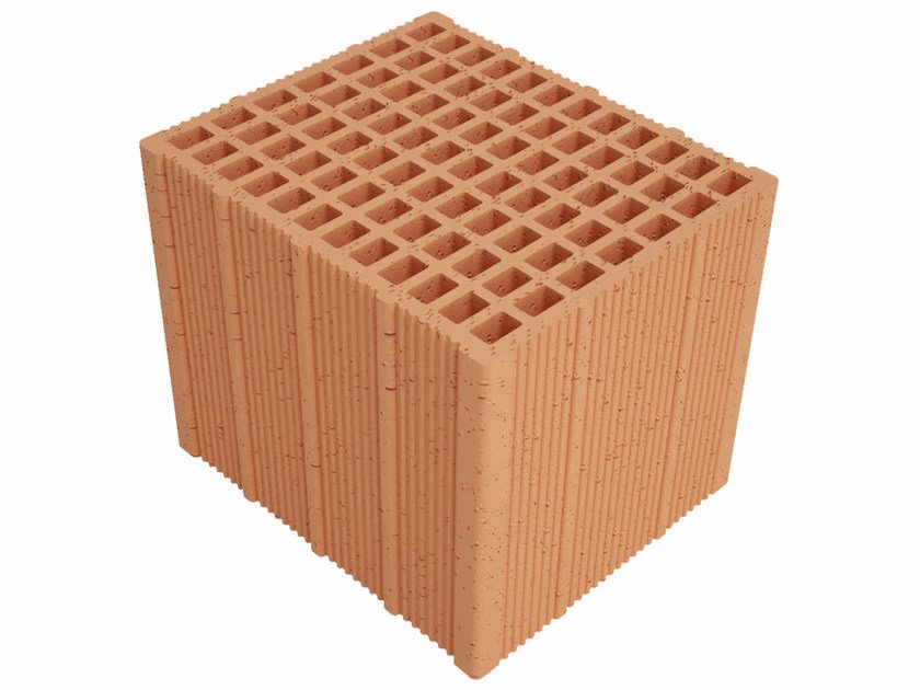 Clay building block Alveolater PZS APZS300 S25 by Fornaci Ioniche