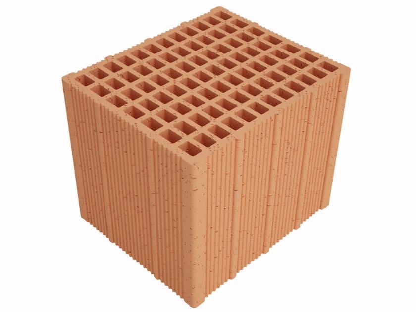 Clay building block Alveolater PZS APZS300 S30 by Fornaci Ioniche