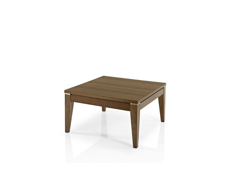 Low square coffee table ALVITO | Low coffee table by JMS