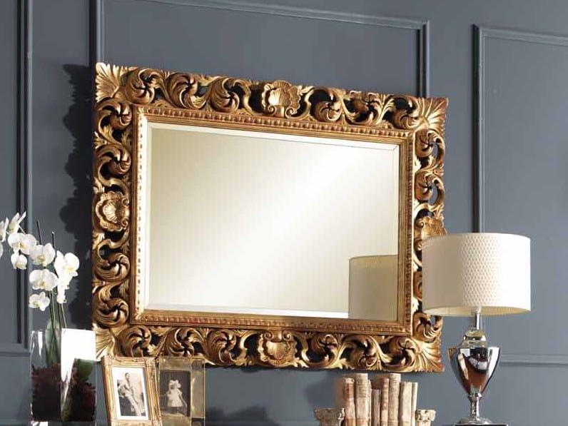 Wall-mounted mirror ALYSSA | Framed mirror by Arvestyle