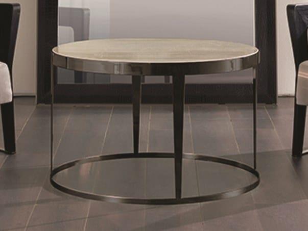 Tavolino rotondo in marmo AMADEUS | Tavolino in marmo by Longhi