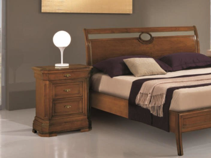 Solid wood bedside table AMALFI   Bedside table by Arvestyle