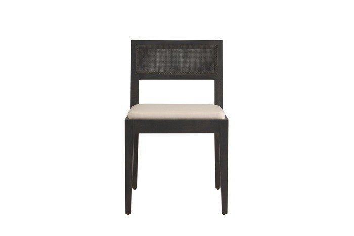 Upholstered open back chair AMALFI | Open back chair by COLLI CASA