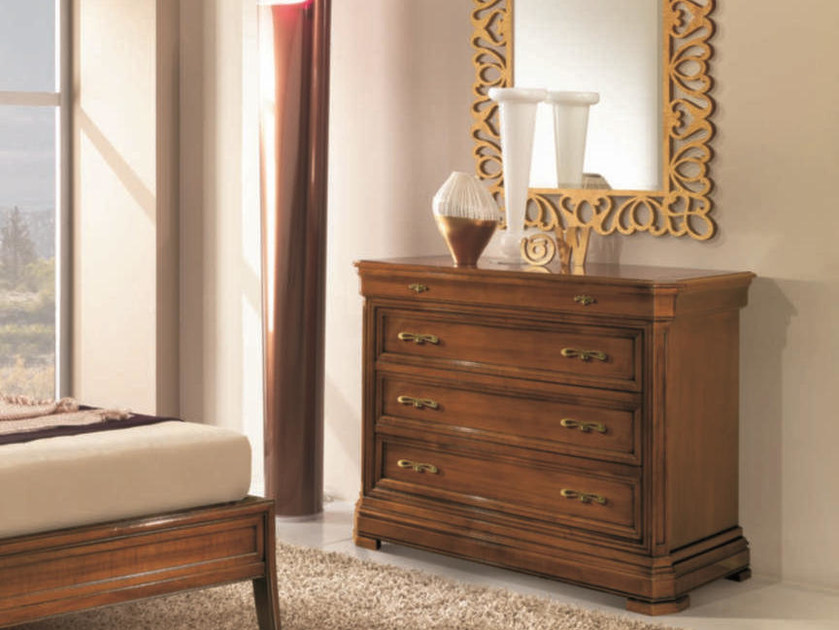 Solid wood chest of drawers AMALFI | Solid wood chest of drawers by Arvestyle