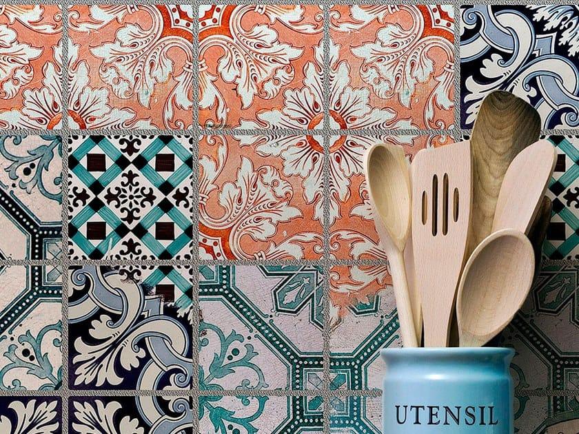 Resin Decorative panel AMALFI by Tecnografica