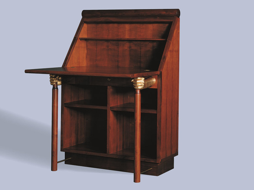 Cherry wood secretary desk AMANUENSE by Mirabili