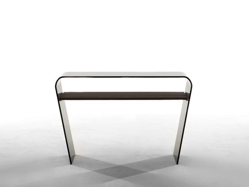 Rectangular glass coffee table AMARANTO by Tonin Casa