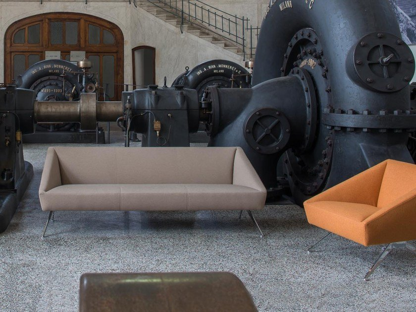 3 seater fabric sofa AMARCORD | 3 seater sofa by Luxy