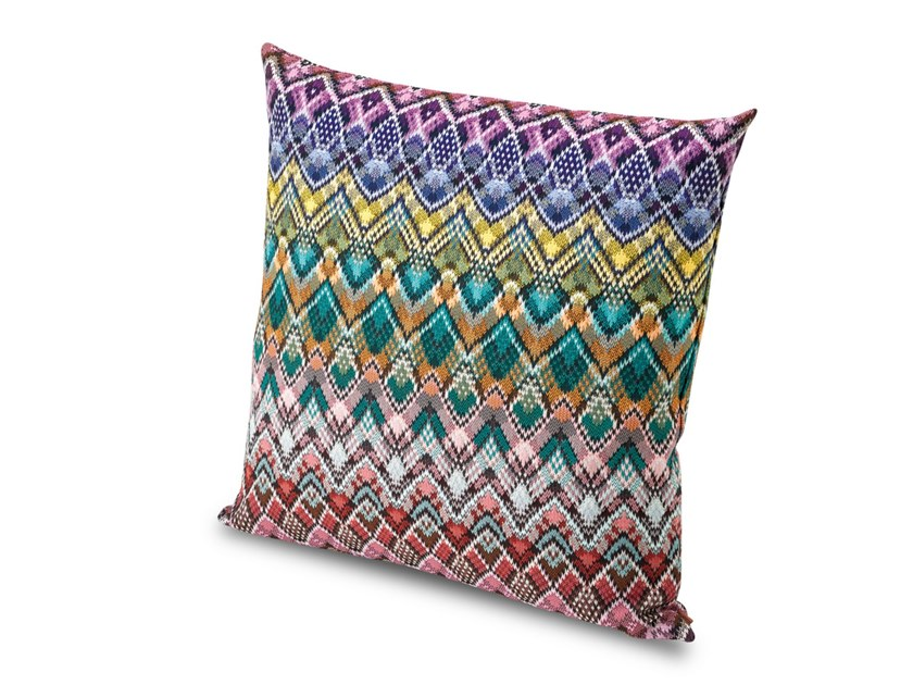Cuscino in tessuto jacquard effetto pizzo AMARILLO by MissoniHome