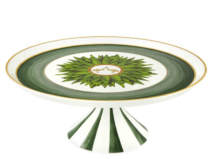 Round porcelain tray AMAZÓNIA | Porcelain tray by Vista Alegre