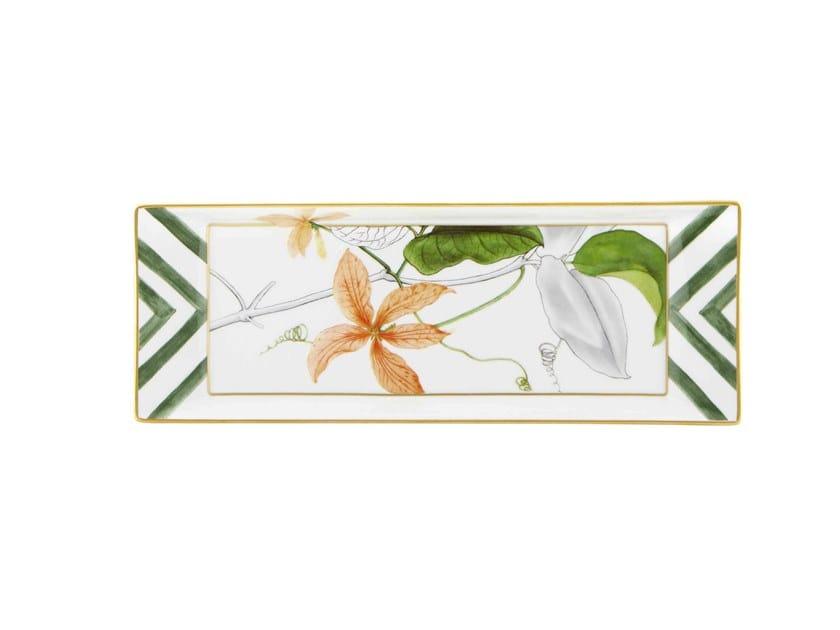 Porcelain serving plate AMAZÓNIA | Serving plate by Vista Alegre