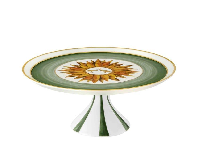 Round porcelain tray AMAZÓNIA | Tray by Vista Alegre