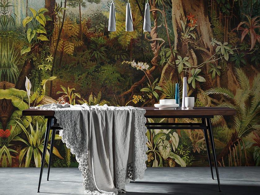 Panoramic landscape wallpaper AMAZZONIA by Inkiostro Bianco