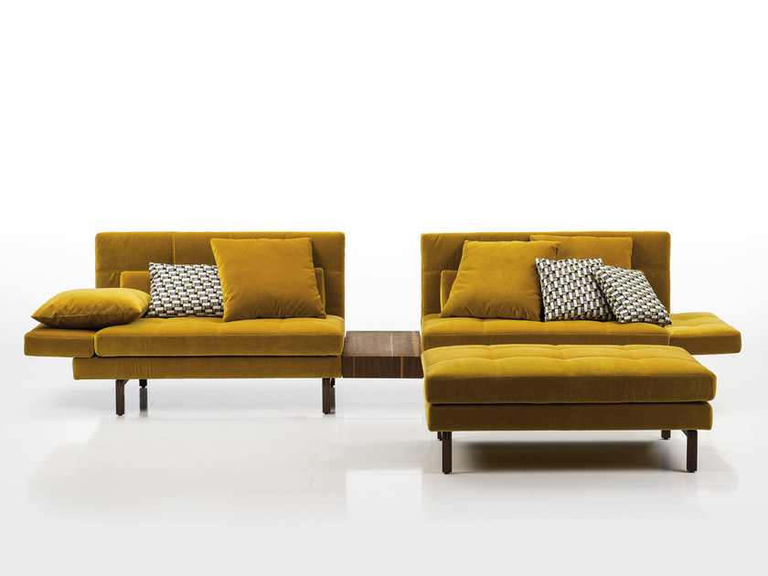 Sectional fabric sofa AMBER | Fabric sofa by brühl