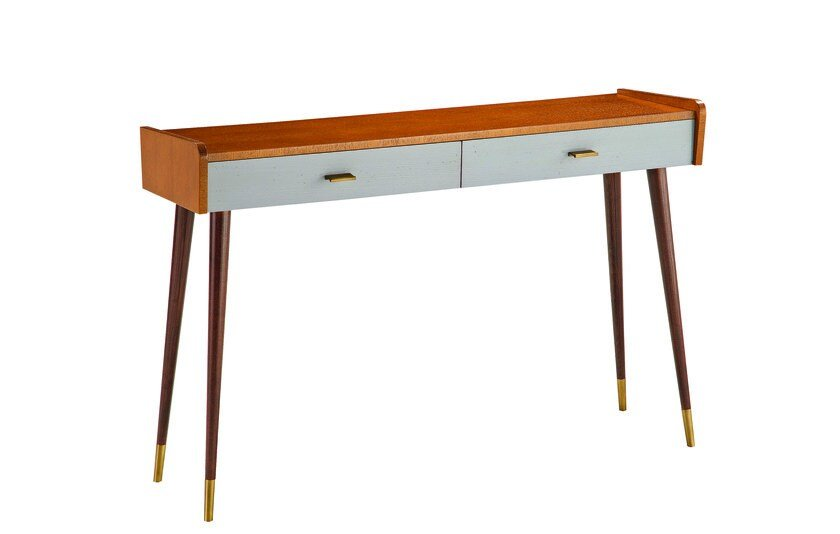 Rectangular MDF console table with drawers REZE by ROCHE BOBOIS