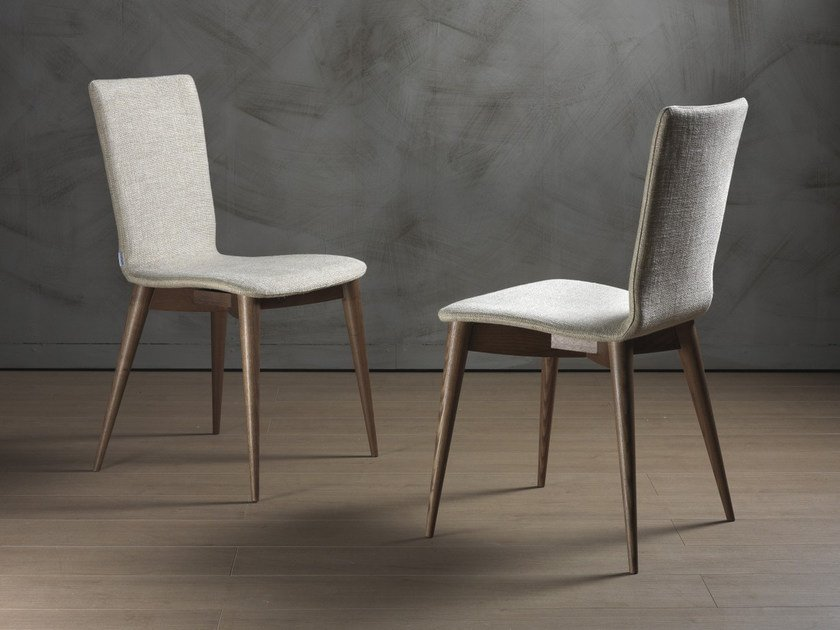 Upholstered chair AMBRA by Pacini & Cappellini