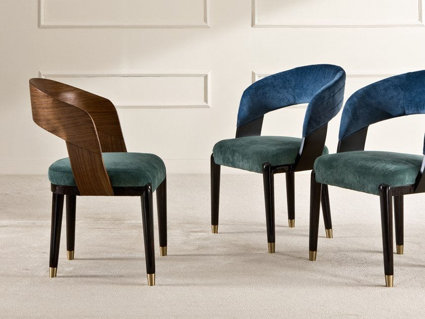 Upholstered chair MASSOIA by Rozzoni