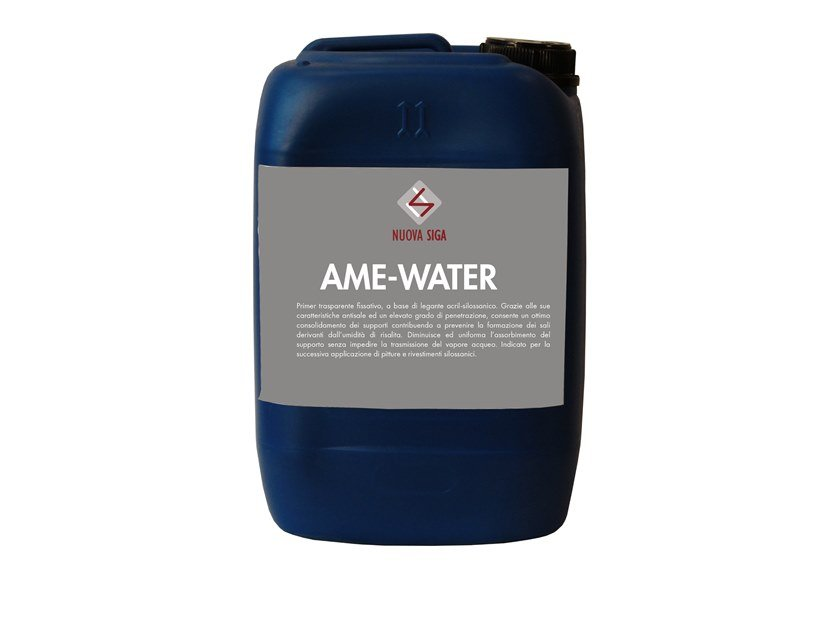 Masonry consolidation AME-WATER by Nuova Siga