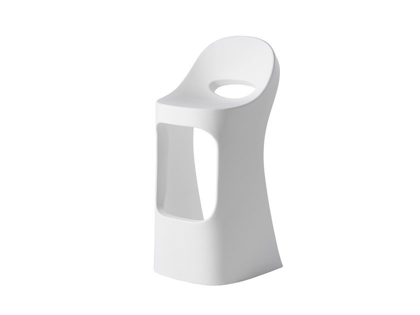 High polyethylene stool AMÉLIE SIT UP by SLIDE