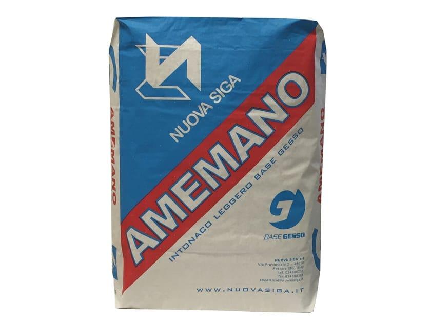 Gypsum plaster AMEMANO by Nuova Siga