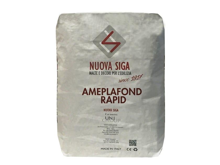 Gypsum plaster AMEPLAFOND RAPID by NUOVA SIGA