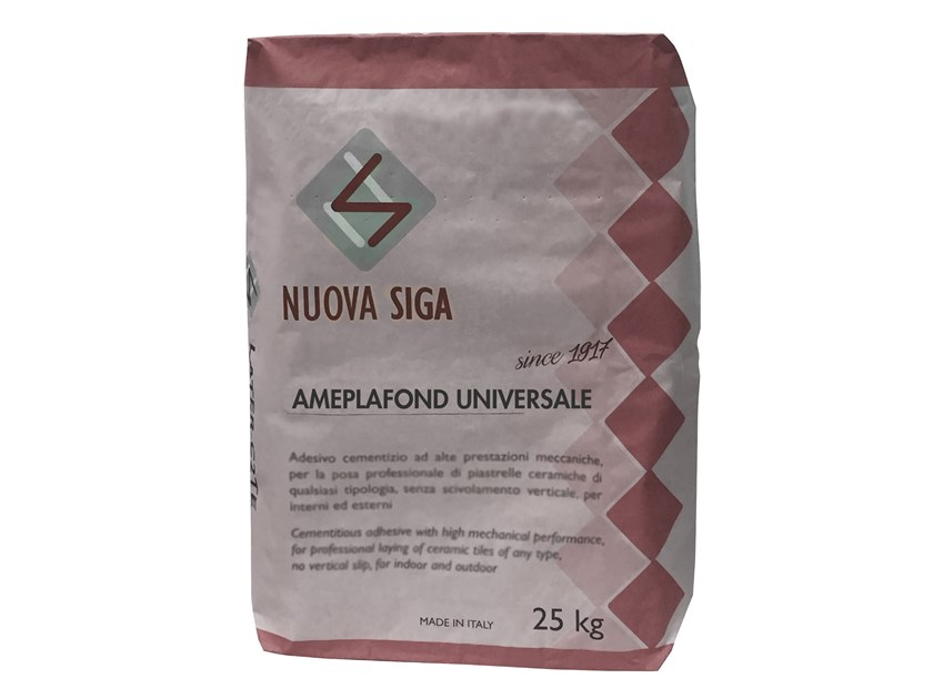 Natural plaster for sustainable building / smoothing compoun AMEPLAFOND UNIVERSALE by NUOVA SIGA