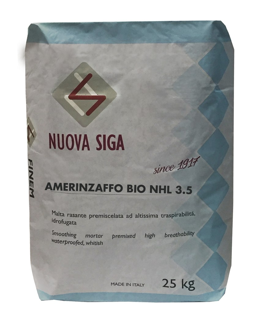Mortar for masonry AMERINZAFFO by NUOVA SIGA