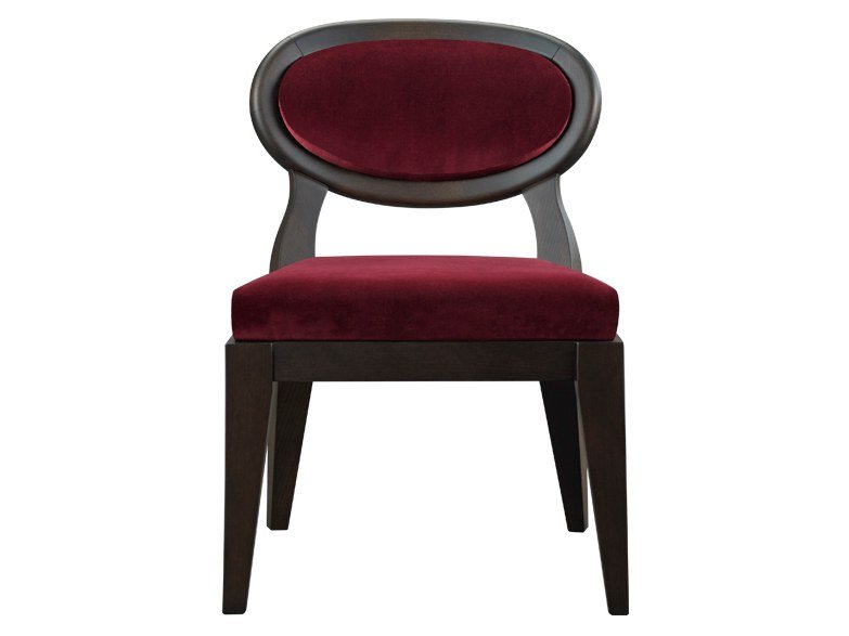 Medallion upholstered fabric easy chair AMINA | Easy chair by Promemoria