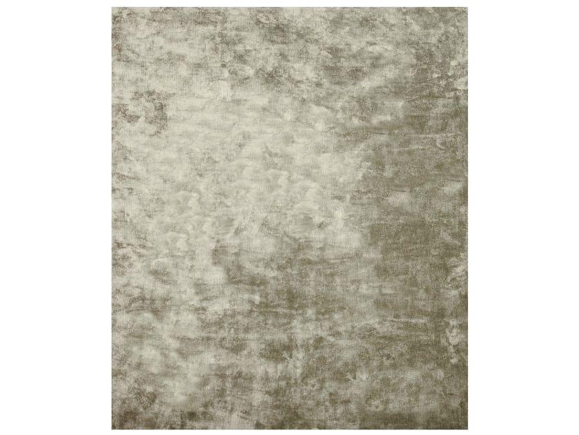 Handmade rectangular rug AMITON by HENZEL STUDIO