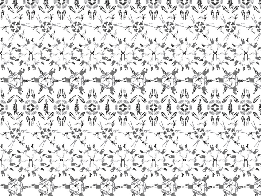 Motif wallpaper AMON MEDIUM by Texturae