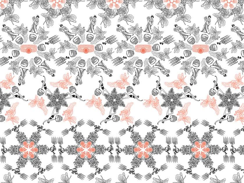 Wallpaper / floor wallpaper AMONET LARGE by Texturae