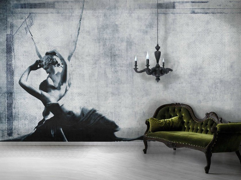 Vinyl or fyber glass wallpaper AMORE by N.O.W. Edizioni