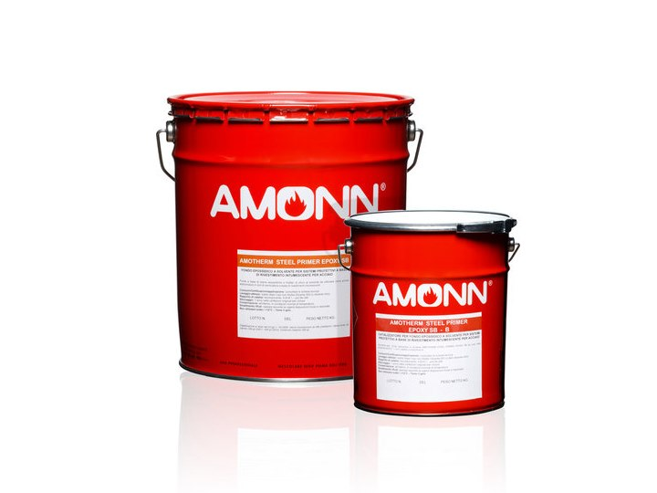 Fire-retardant finish AMOTHERM STEEL PRIMER EPOXY SB by J.F. AMONN
