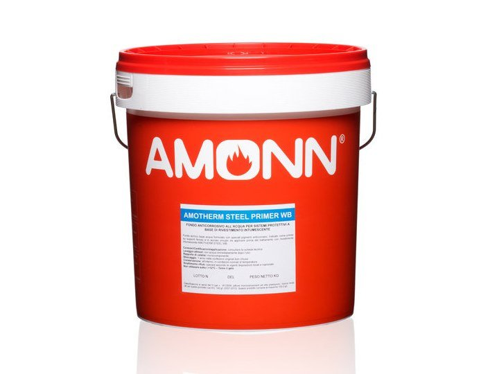 Fire-retardant finish AMOTHERM STEEL PRIMER WB by J.F. AMONN