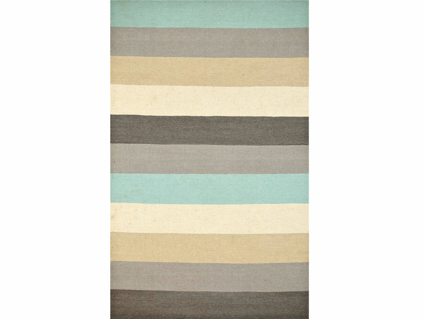 Striped wool rug MAROC DW-148 by Jaipur Rugs