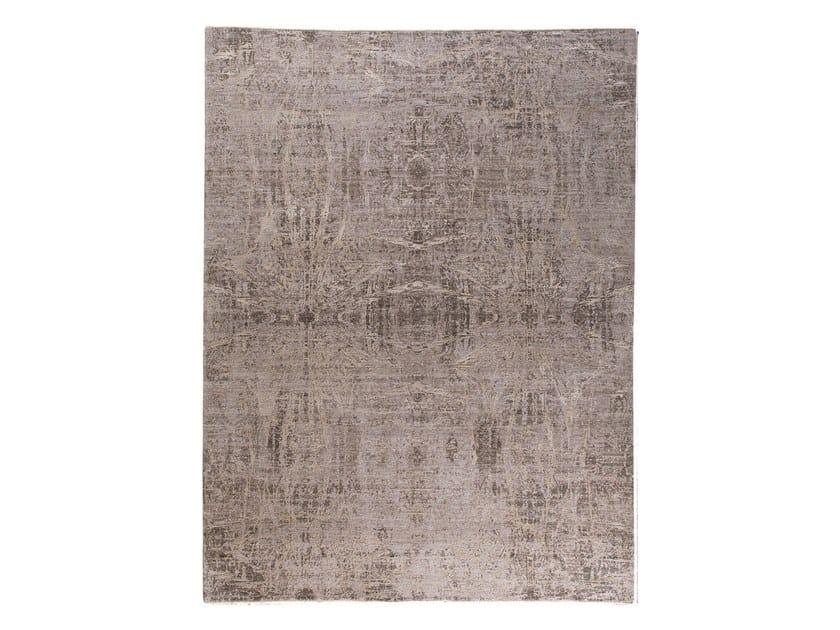 Handmade custom rug ANAMIKA BROWN by Thibault Van Renne