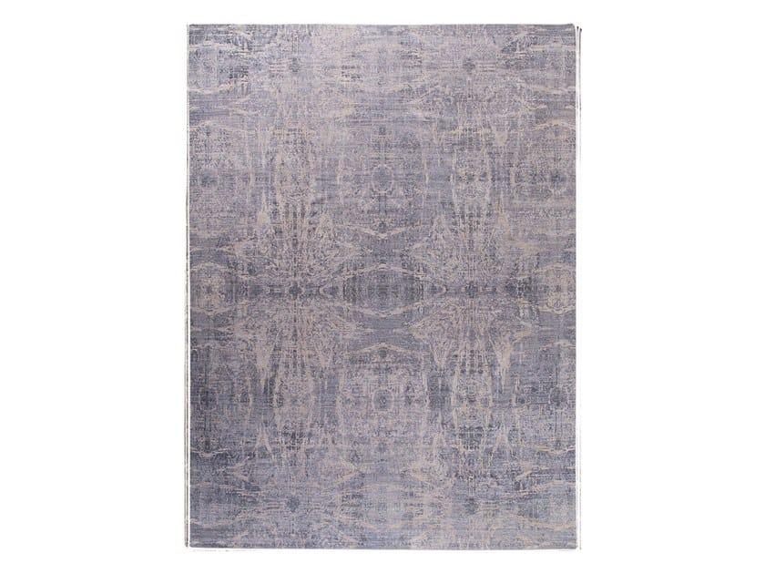 Handmade custom rug ANAMIKA GREY by Thibault Van Renne
