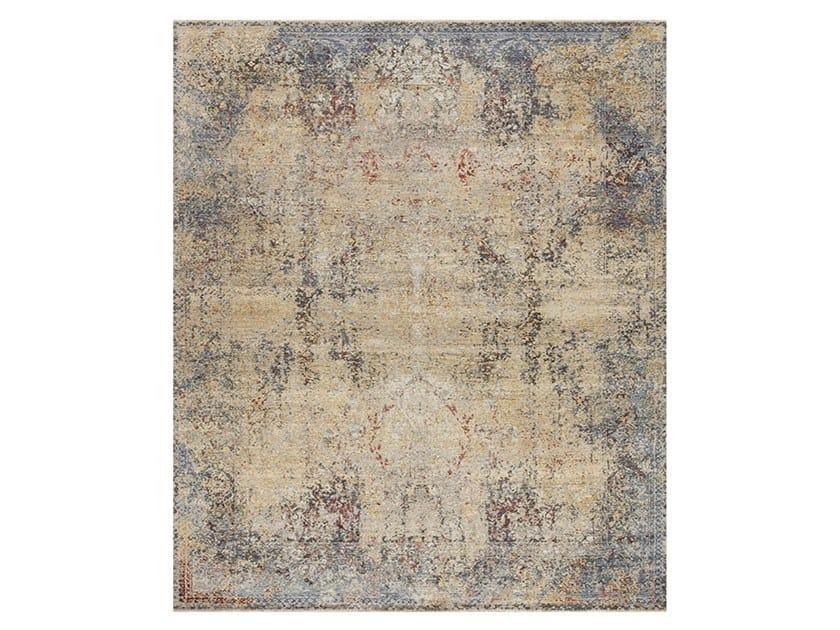 Handmade custom rug ANCIENT 5C-2 by Thibault Van Renne