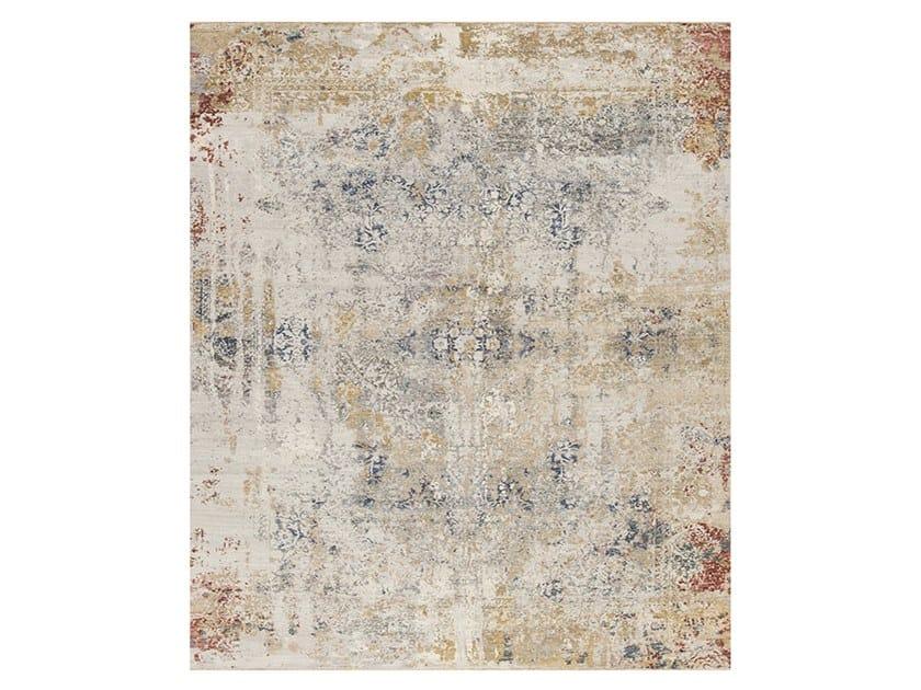 Handmade custom rug ANCIENT 6C-1 by Thibault Van Renne