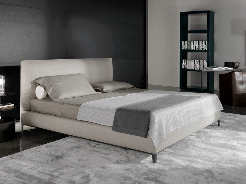 bed andersen bed andersen system series by minotti. Black Bedroom Furniture Sets. Home Design Ideas