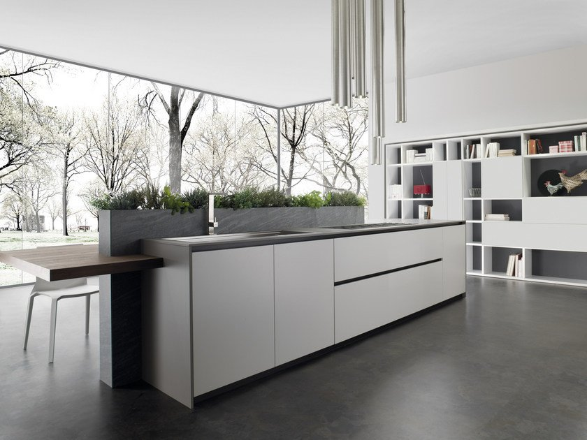 Cucine In Fenix.Andromeda Fenix Ntm Kitchen By Floritelli Cucine