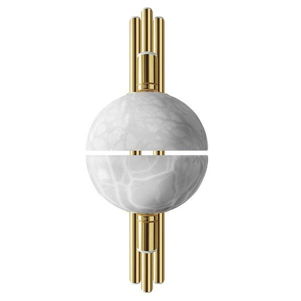 Brass wall light ANDROS | Wall lamp by Creativemary