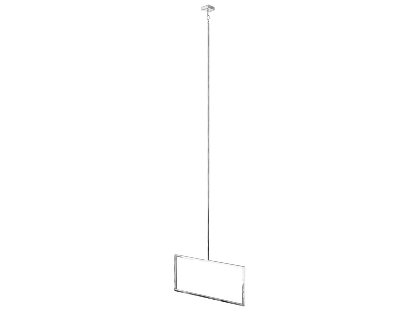Ceiling Mounted Towel Rack Anelli Squared Ring By Lineag