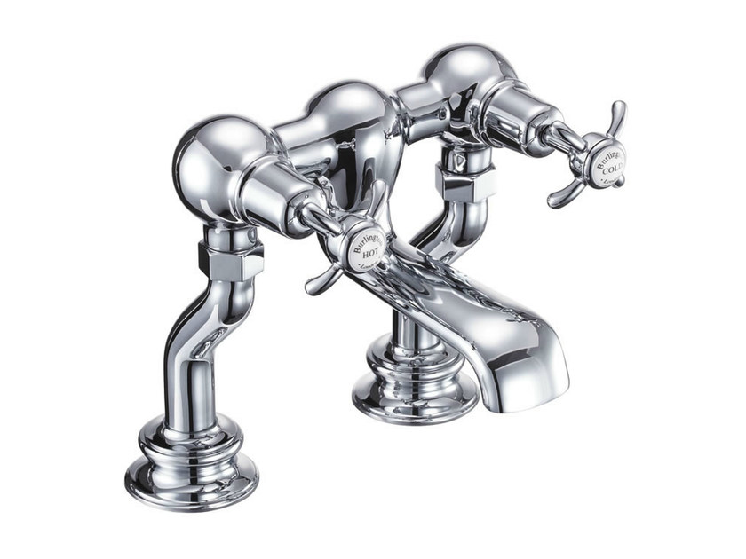 2 hole chromed brass bathtub tap ANGLESEY REGENT | 2 hole bathtub tap by Polo