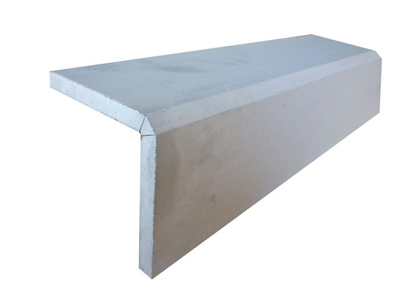Plasterboard cornice ANGOLO 90° R by Biemme