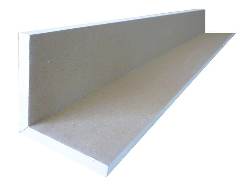 Plasterboard cornice ANGOLO V 90° | Plasterboard cornice by Biemme