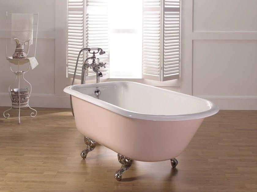 Freistehende Ovale Badewanne Aus Gusseisen Mit Standfussen Anis