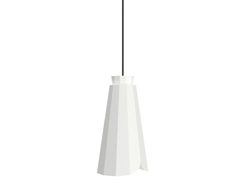 Powder coated steel pendant lamp ANKARA HIGH by Matière Grise